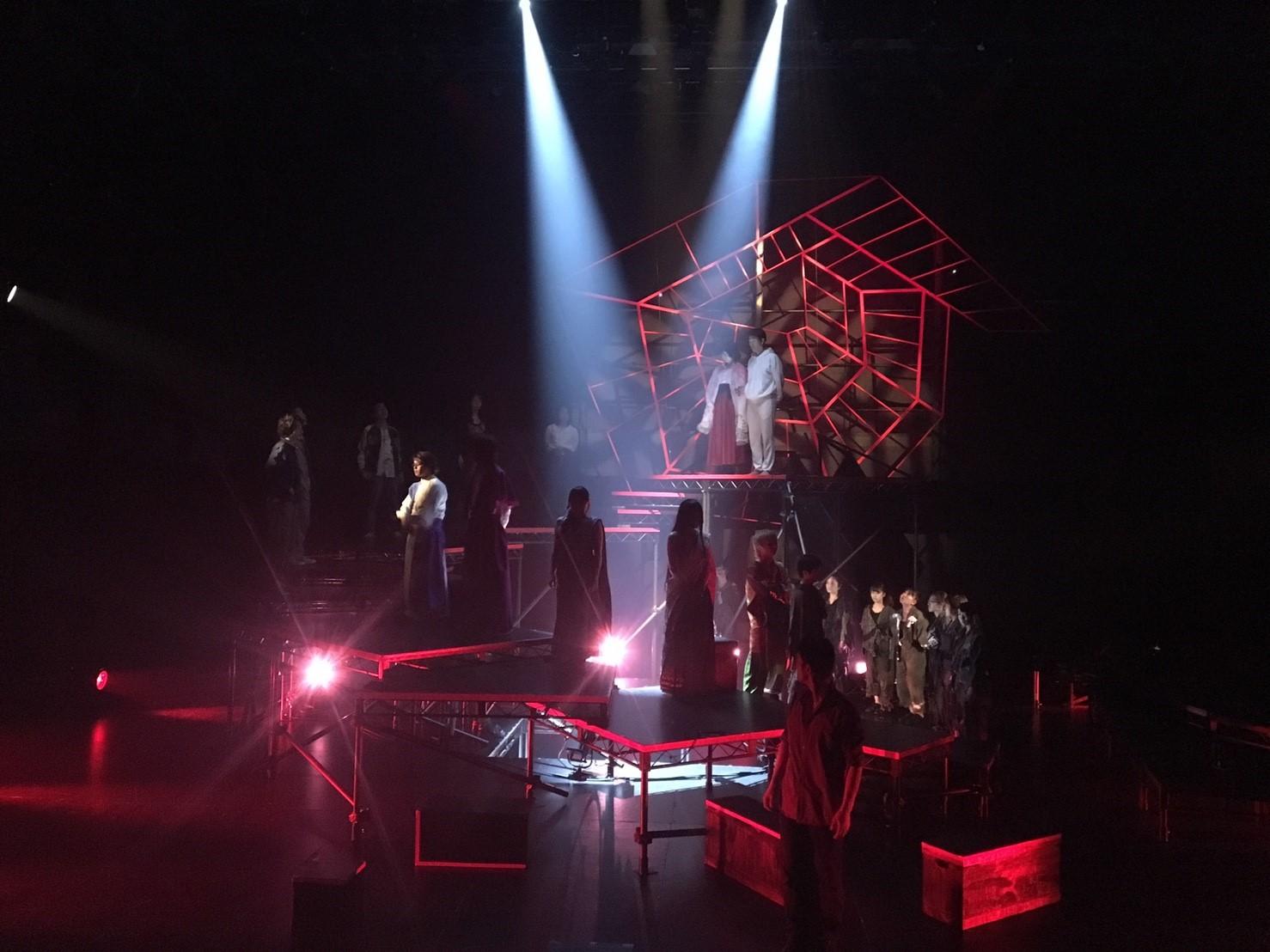 KAAT公演「螺旋と蜘蛛」