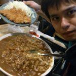【日常】 横浜山下町の大盛カツカレーの店、どん八(どんぱち)