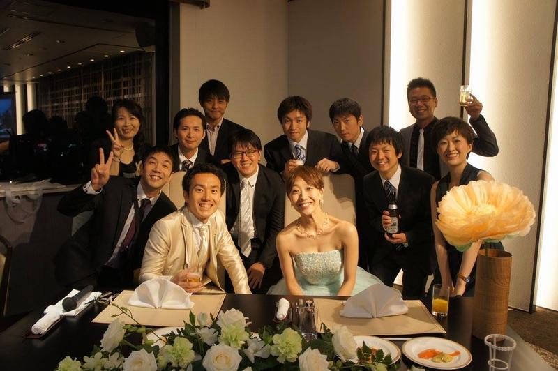 中西浩結婚パーティー