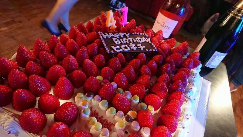 ヒロキチさん誕生日