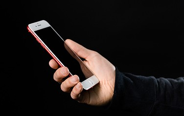 上演中の携帯電話1