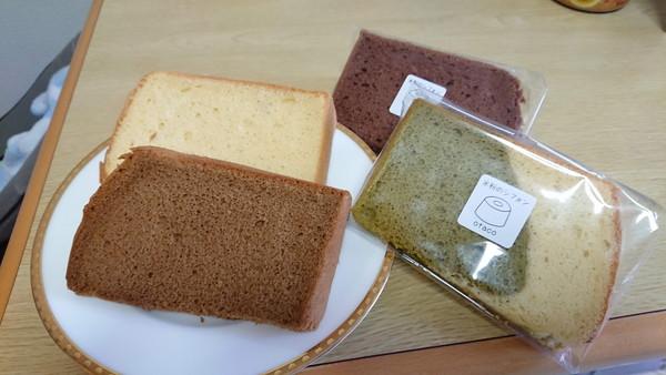 浅草otacoの米粉シフォンケーキ