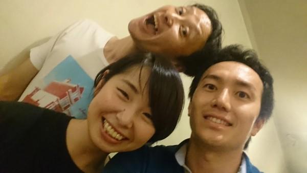 永田涼香&大田康太郎&中西浩 in サンモールスタジオ「纏わる人々」