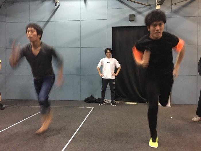 KEISOU走り訓練