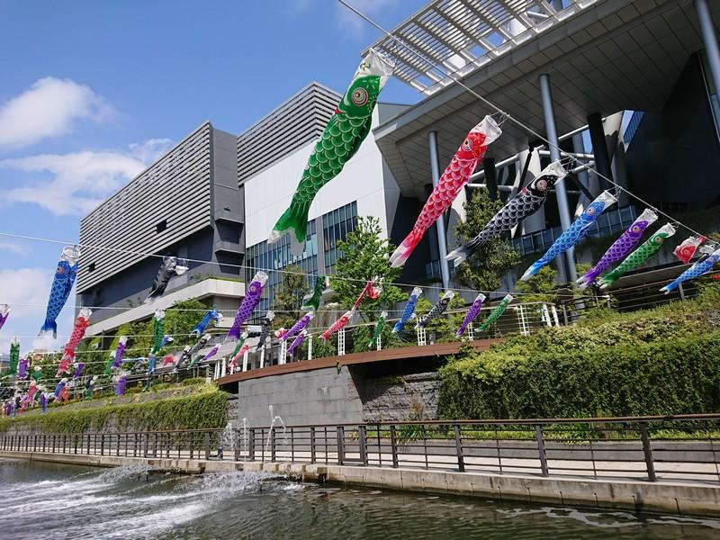 東京スカイツリータウンのこいのぼり