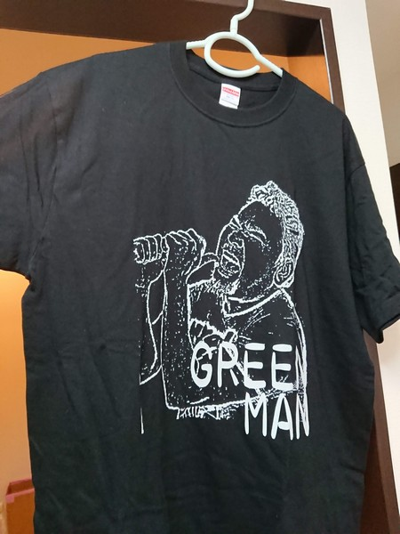 緑慎一郎Tシャツ