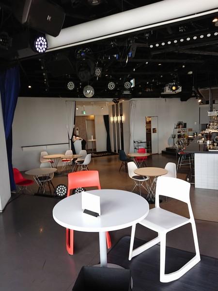 劇場カフェって雰囲気の内装