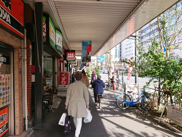 田原町駅近くの吉野家