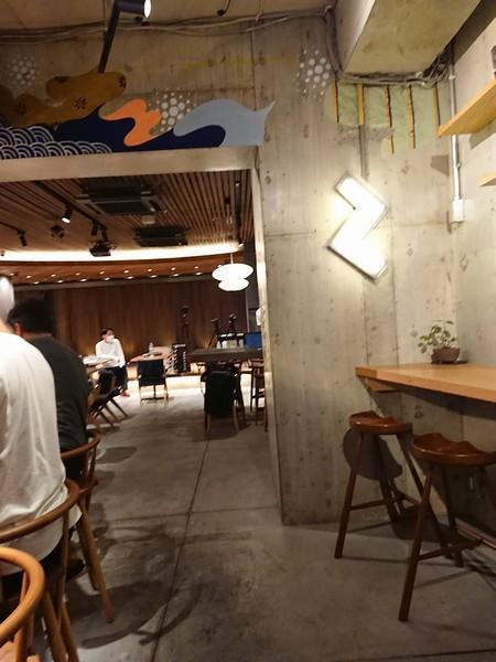 九劇カフェの内装