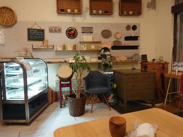 カフェの内装