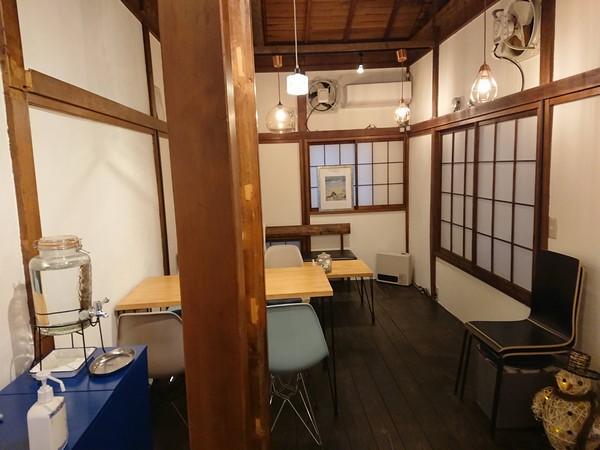 cafe晴蔵の2F