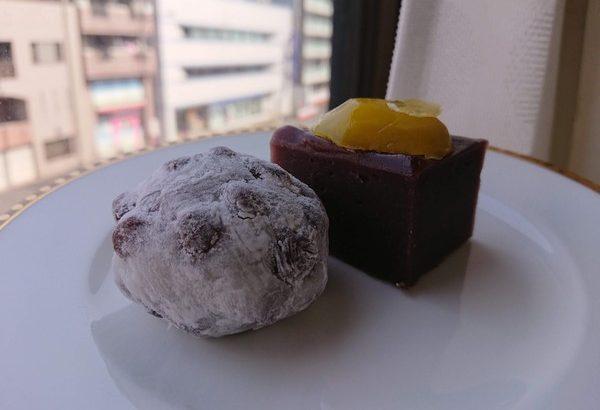 桃太郎の豆大福と芋羊羹