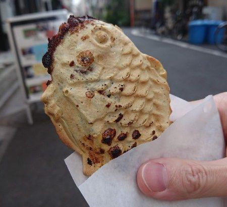 【浅草グルメ】たい焼き 写楽