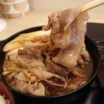 浅草でランチで990円のすき焼きが食べられる