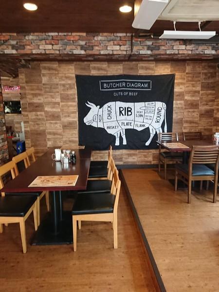 Foo dee's Ribs & BBQ grill houseの内装