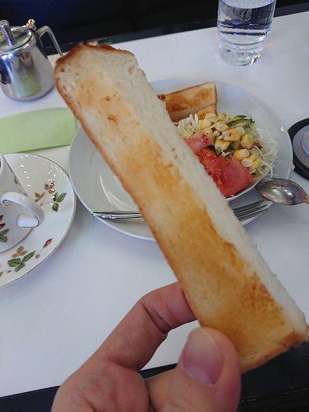 ペリカンのトースト