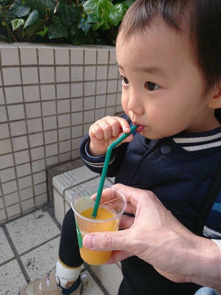 西浅草ビューホテル近くのみかんジュース