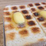ペリカンのパンを使ったトースト
