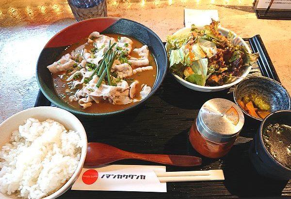 豚しゃぶスープカレー定食