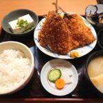 真鰺フライ定食950円