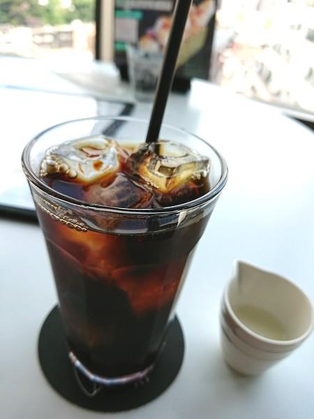 セットドリンクのアイスコーヒー