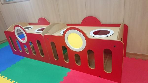 子供用のトンネル
