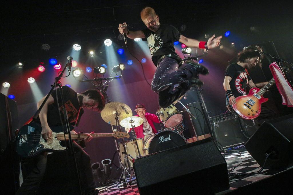 パンクドランカー舞台写真