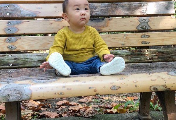 【日常】新宿御苑で家族写真撮影