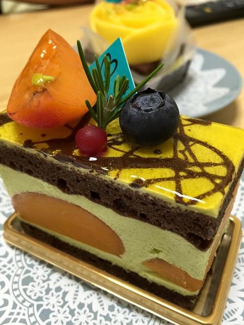 あんずのケーキ