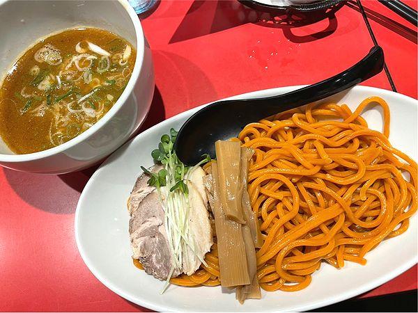 味噌つけ麺と赤麺