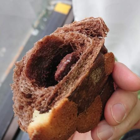 チョコレートパンの中身