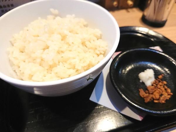 鶏白湯ライス