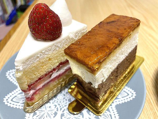 ショートケーキとサンマルク