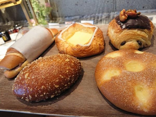 5つのパン