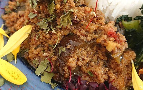 花椒香る麻婆茄子カレー