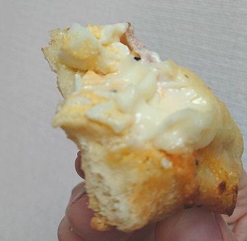 卵とチーズがたっぷり