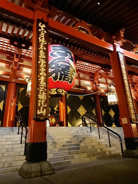 夜の浅草寺はおすすめスポット
