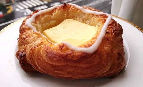 クリームチーズのデニッシュ