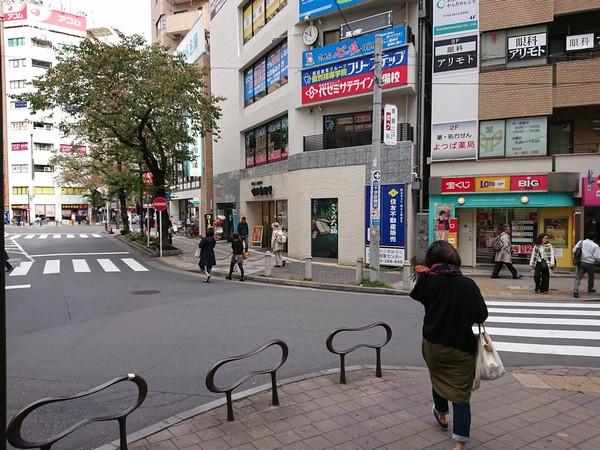 JR日暮里駅の南口から出たときの東口