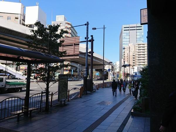 上野の道のり