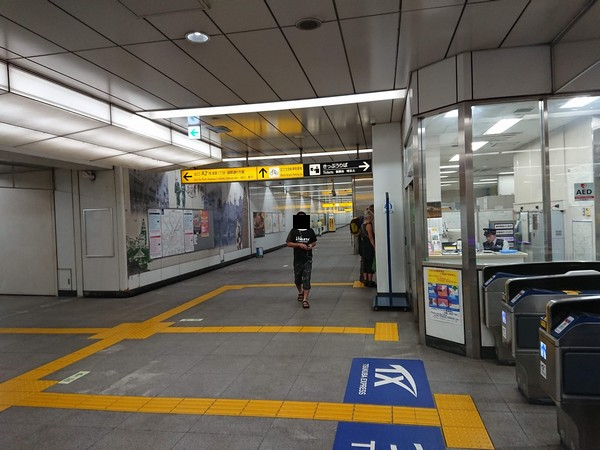 つくばエクスプレス浅草駅からの浅草九劇への行き方