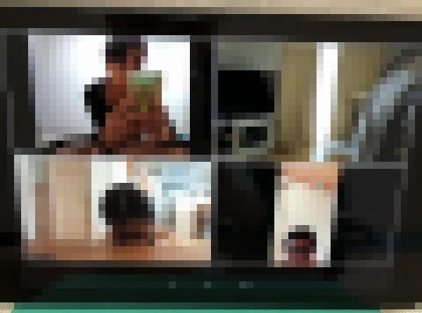 FireHD10タブレットでZoomでの画面分割