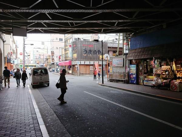 東武浅草駅の北口のガード下