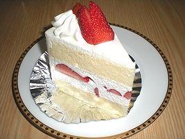 あろーむのショートケーキ