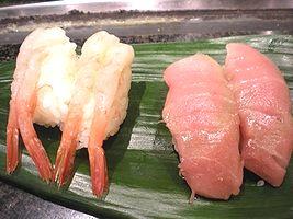 上野の安い寿司