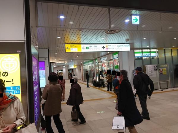 京成上野駅から上野ストアハウスまでの道のり