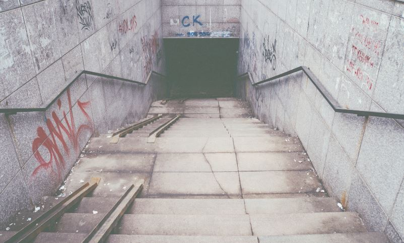 地下の秘密通路