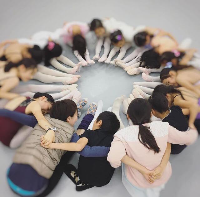 【ダンス】 オーブバレエスタジオ 父兄参観レッスンのお手伝い