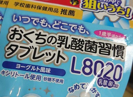 【日常】口内炎を早く治す&予防するなら L8020乳酸菌が最強説