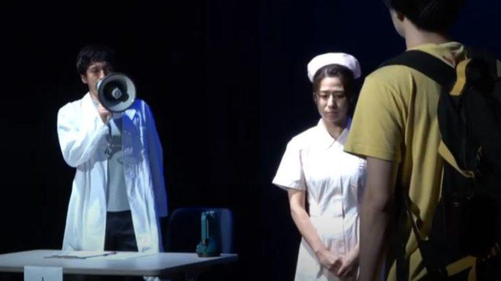 【演劇】バーチャル開放区 キャットウォーク演劇映像作品『ラインを越えて』
